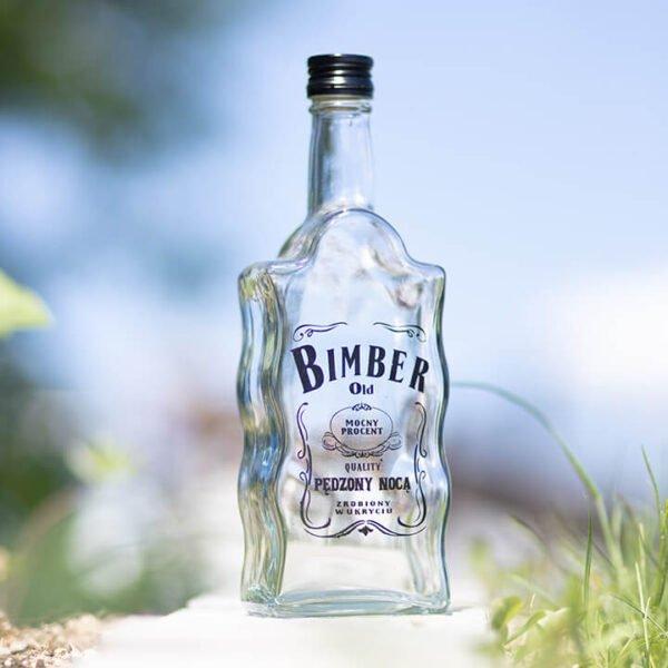 Butelka Fala z nadrukiem