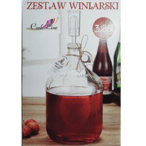 Zestaw winiarski 3,85L