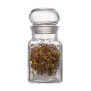 Słoik szczelny szklana pokrywa 150ml