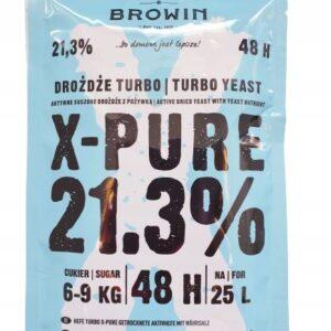 Drożdże gorzelnicze X-PURE 48 21,3% 48h