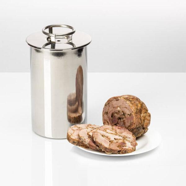 ZESTAW WĘDLINIARSKI GARNEK, KOSZ I SZYNKOWAR 1,5 kg