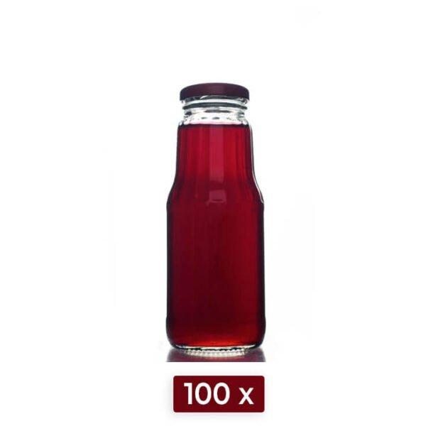 Butelka FRUIT 300 ml zestaw 100 sztuk bimberek