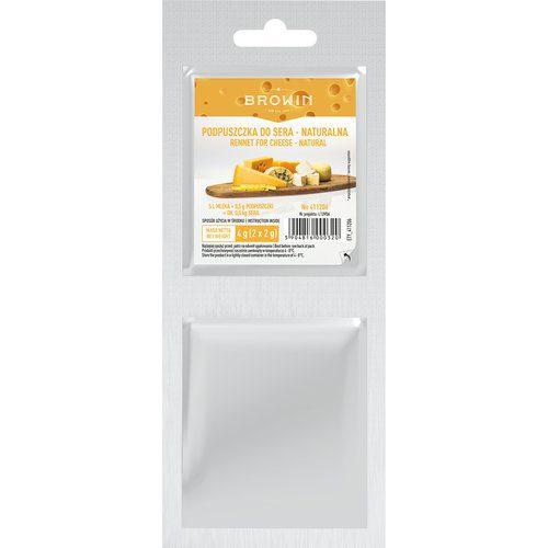 Podpuszczka do sera naturalna - 2x2 g