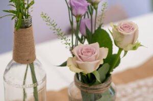 bimberek Szklane butelki i słoiczki na wesele