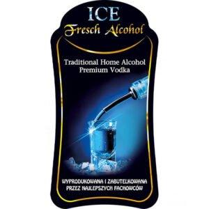 Etykieta Ice Fresch Alcohol