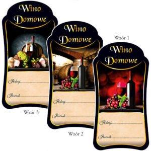 Etykieta wino PREMIUM