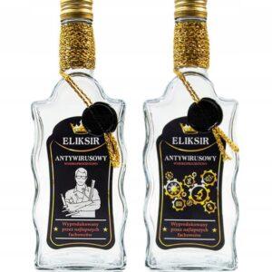 Butelka-zdobiona-fala-500ML-ELIKSIR-ANTYWIRUS