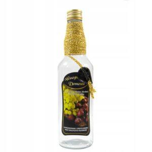 Butelka-zdobiona-monopol-500ml-DOMOWA-WINOGRONOWKA